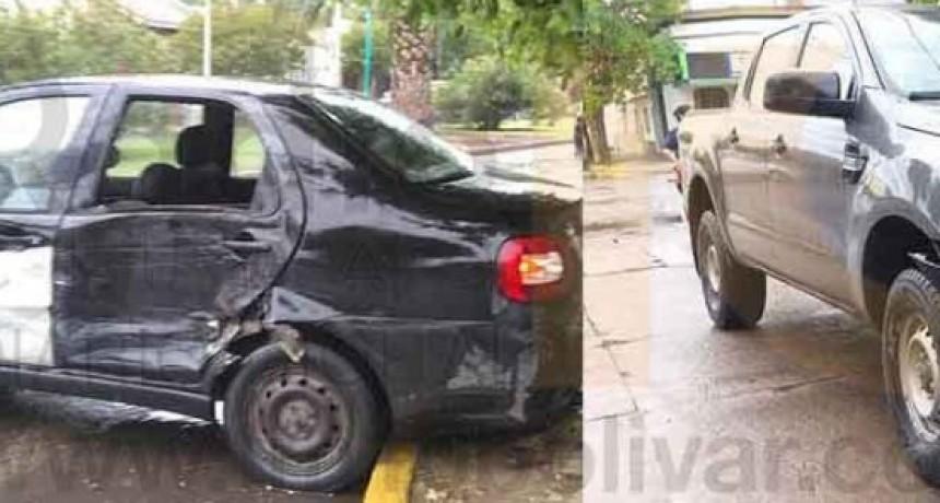 Accidente en Av. Brown y Calle Falucho sin mayores consecuencias
