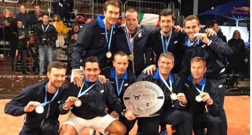 Andrés Britos representando a Italia se consagró en el Campeonato de Europa de Pádel FIP 2019