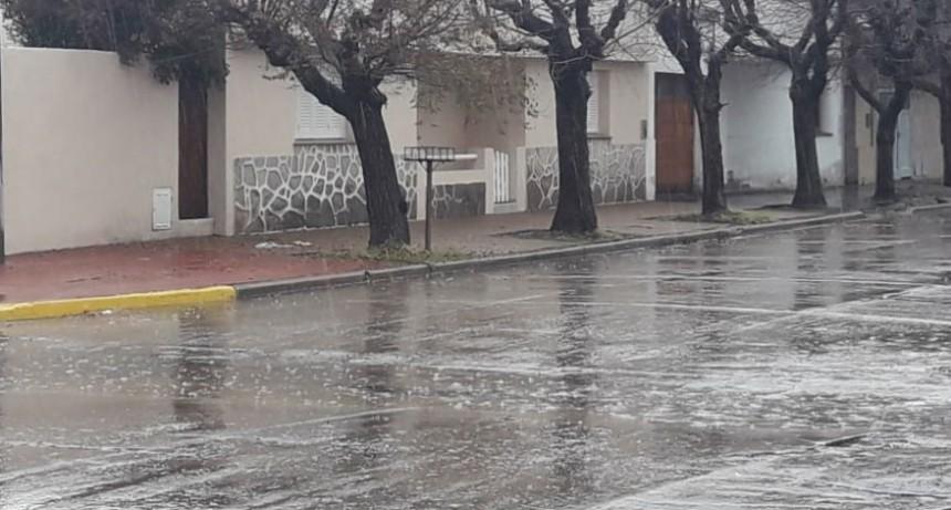 Hasta 28 mm registrados en Bolívar y la zona