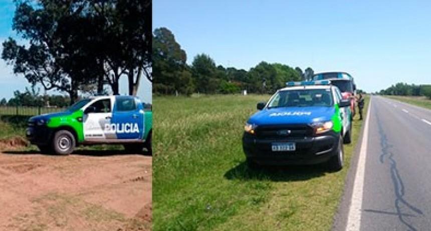 CPR: Se realizan operativos preventivos y se secuestró un utilitario con denuncia de robo