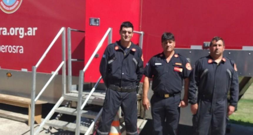 Roque Bazán: 'Es un orgullo el esfuerzo que hacen los bomberos de la ciudad por capacitarse y ser cada día mejores'