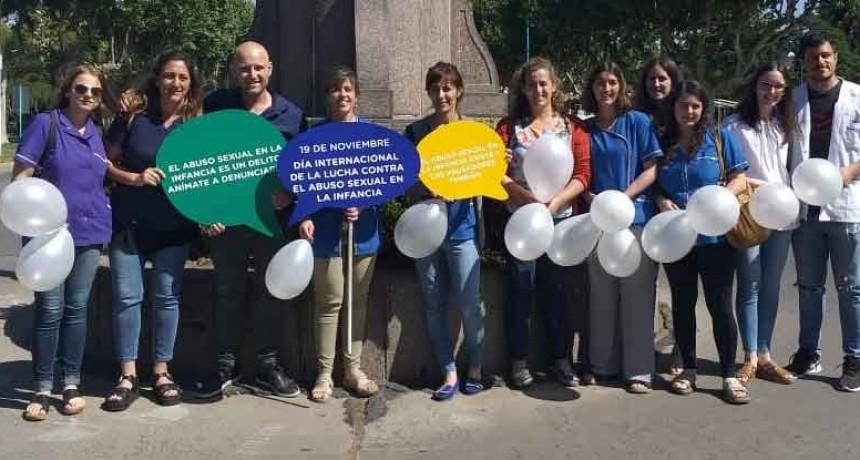 En el marco del Día Mundial para la Prevención del Abuso y el Maltrato Infantil se realizó una jornada de concientización