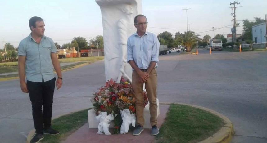 Vecinos de la ciudad recordaron a Juan Carlos Bellomo