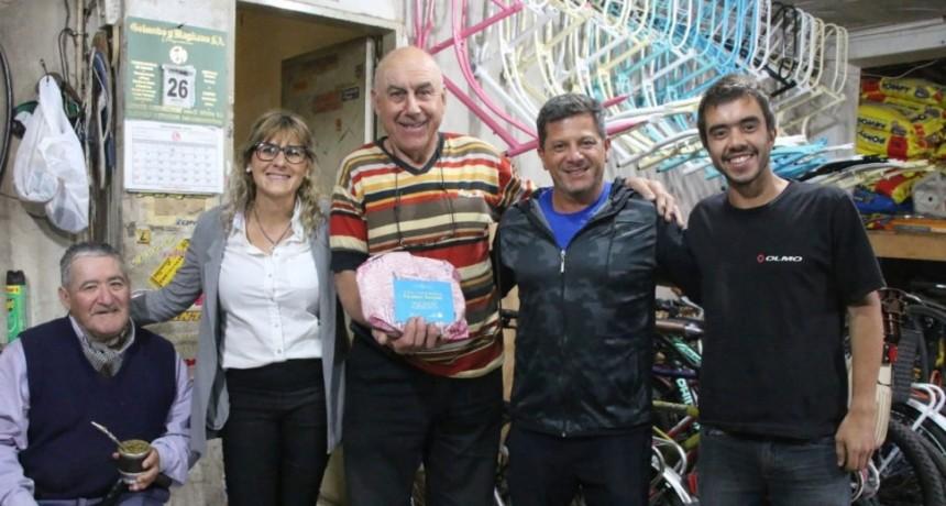 La Municipalidad saludó a Norberto 'Paisano' Santos por su cumpleaños