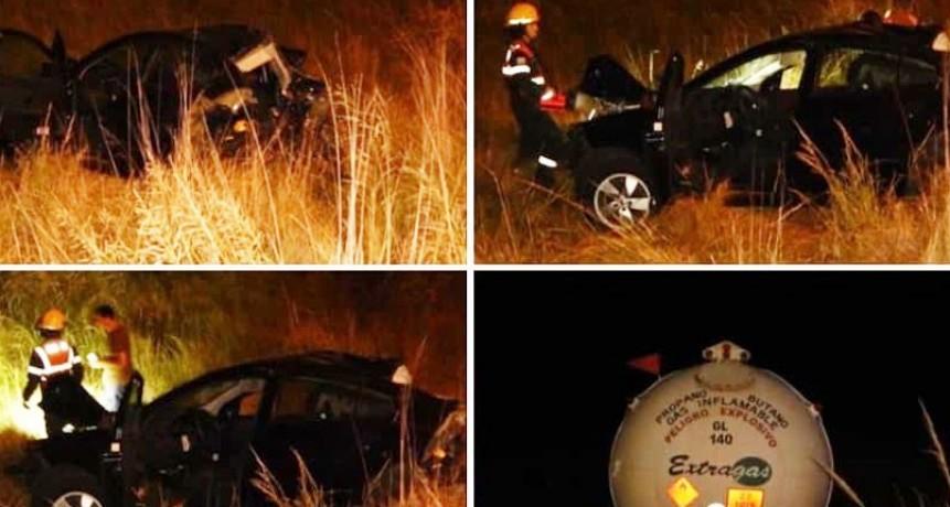 Ruta 65: Un muerto a raíz de un accidente en cercanías de la rotonda denominada 'La Olla'