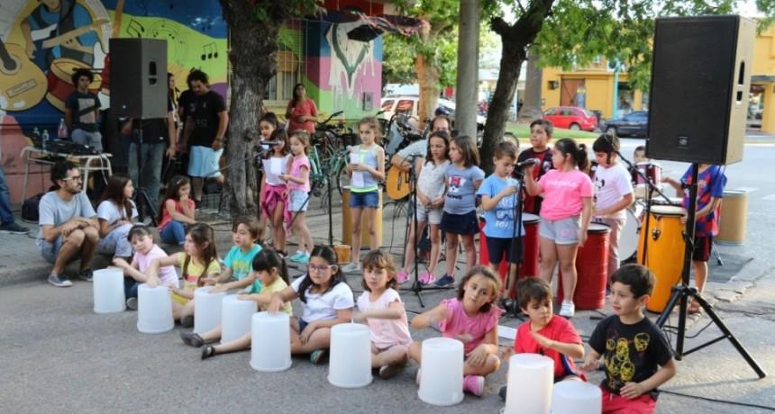 La Escuela de Educación Estética Nº1 organizó una jornada especial para celebrar el Día de la Música