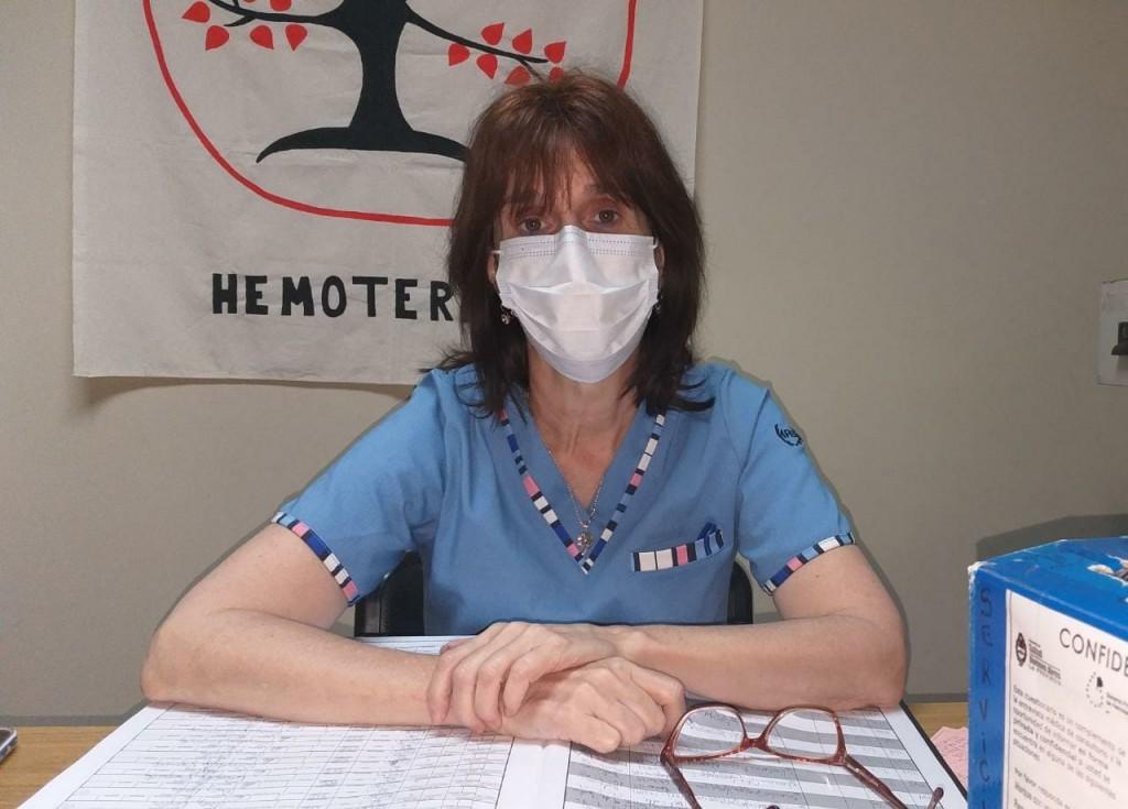 """Adriana L'hoste: """"Dos de las muestras que hemos enviado dos fueron aptas para la donación de plasma"""""""