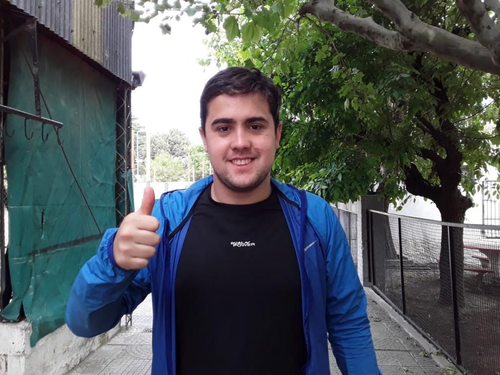 """Tobías Aguilar: """"Hay momentos que necesitas un cambio de aire, por eso decidí irme de Balonpie a Independiente"""""""