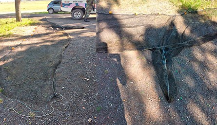 4 pescadores de Olavarría fueron infraccionados por haber tirado una red en el arroyo Vallimanca