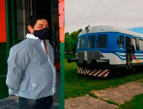 """Roque Gómez: """"A mí no me interesan las banderías políticas, sólo la vuelta del tren"""""""
