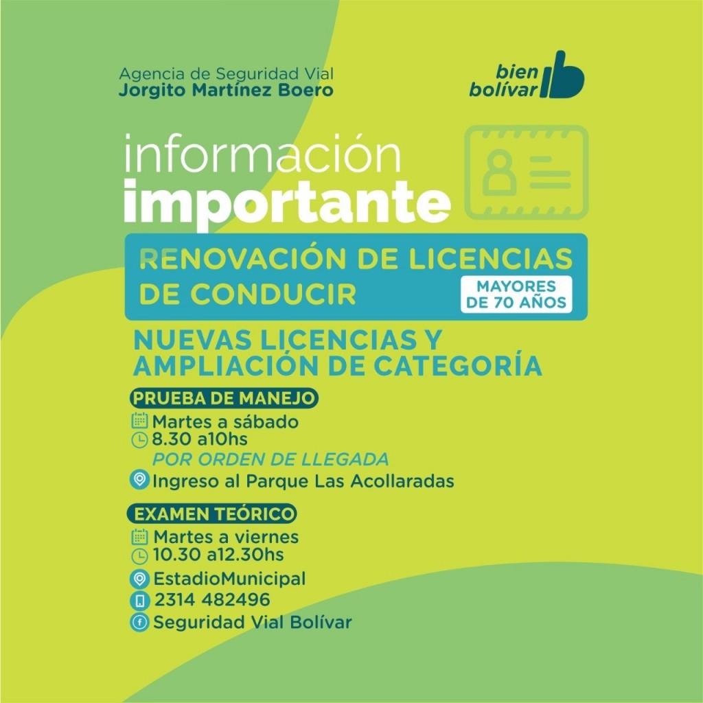 Desde el 17 de noviembre, se podrá tramitar la primera licencia de conducir