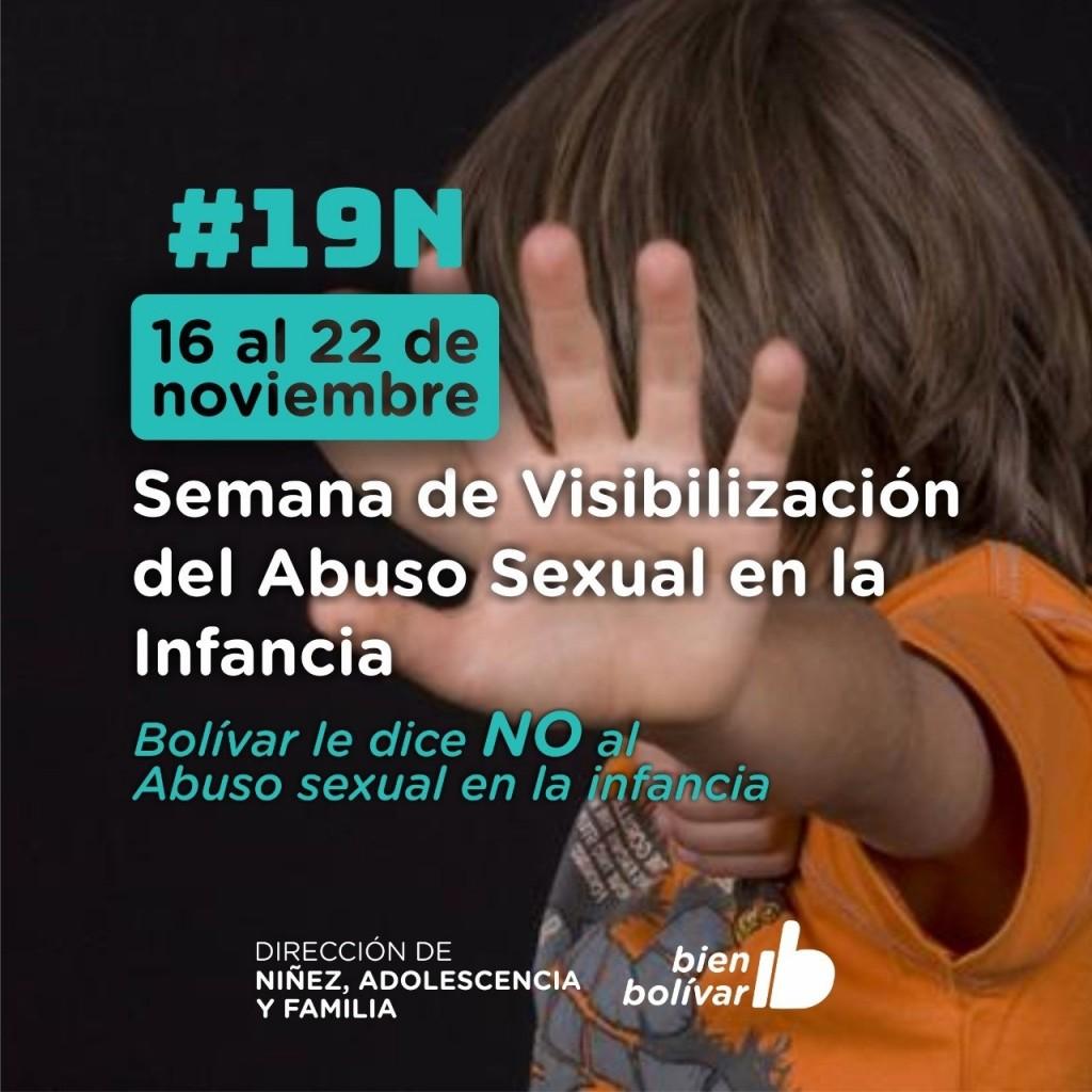 Semana de visibilización del abuso sexual en la infancia