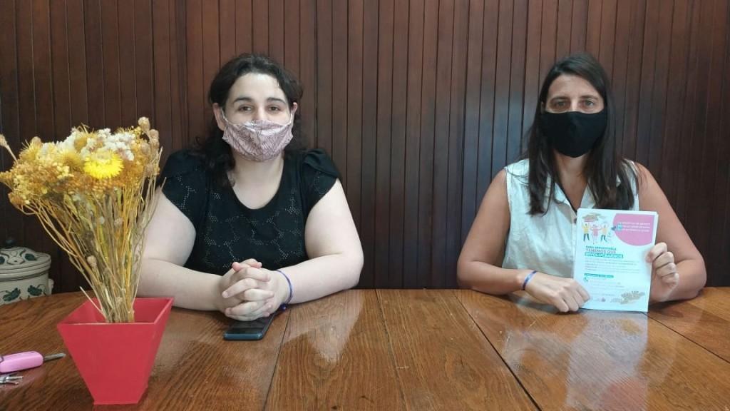Marianela Zanassi (Derechos Humanos y Fernanda Colombo (Secretaria de Hacienda), hablaron con FM 10