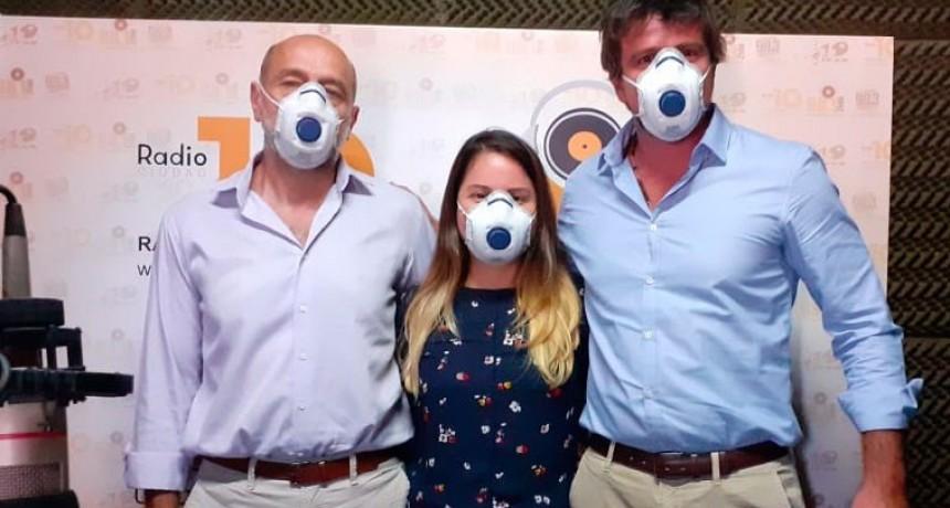 ENEL X: Energías Renovables visitó el estudio de FM10 Radio Ciudad