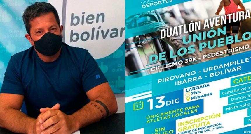 """Alejandro 'Nano' Viola: """"Con el aval del Intendente, y debido a que muchas actividades deportivas fueron habilitadas, decidimos lanzar la carrera Unión de los Pueblos"""""""