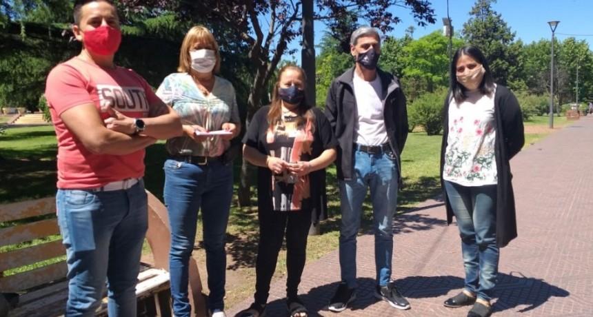 """Beatriz Martínez: """"Queremos agradecer al Intendente Marcos Pisano por permitir que esto sea posible y a la comunidad por el apoyo recibido"""""""