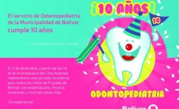 Odontopediatría cumple 10 años y lo festeja con más de 500 chicos en el Avenida