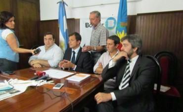 El Intendente presentó el proyecto para el Parque Logístico y Playa de Camiones