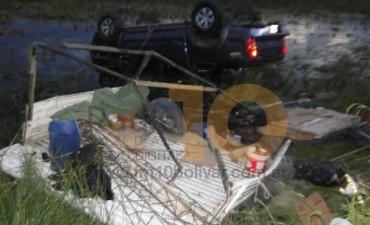 Varios accidentes y un robo fue el saldo del finde largo