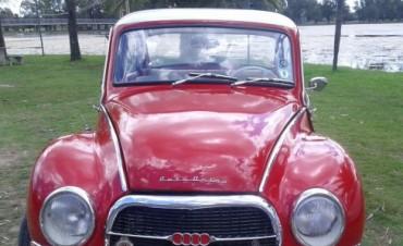 Más de treinta autos de colección se reunieron en el parque