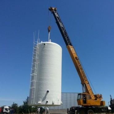 Llegaron los primeros tanques para la Planta Potabilizadora de Agua