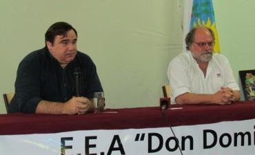 El Director Regional del INTA confirmó la incorporación de bienes de uso a la Estación Barnetche