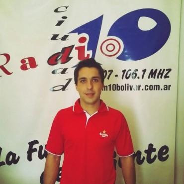 Padel Circuito Profesional: Andrés Britos visitó FM 10 y contó su experiencia en España