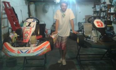 Karting: Fuentes dijo que irán a buscar las dos categorías