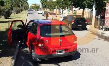 Esta mañana: Leve impacto entre dos vehículos, no se registraron personas heridas