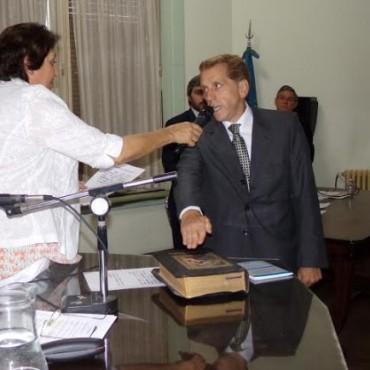 Luis Mariano; nuevo presidente del Concejo Deliberante