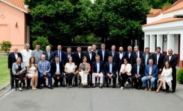 Macri almorzó con los gobernadores