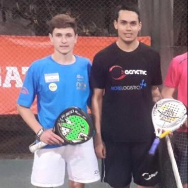 Pádel: Tirso Pato y Joshua Pirraglia lograron llegar a la semifinal del Torneo de Maestros 2015