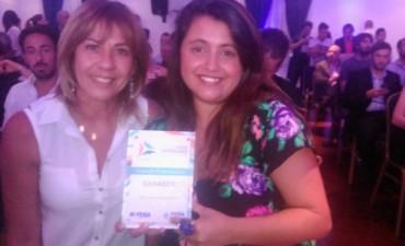 Una joven bolivarense es ganadora de la terna 'impacto empresarial' en los premios Jóvenes Empresarios Bonaerenses 2015