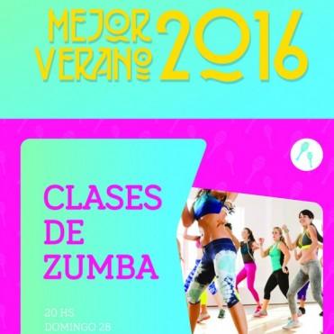 MEJOR VERANO 2016: Zumba en el Centro Cívico este domingo