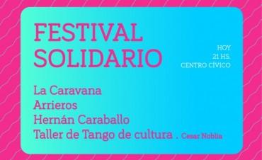 Hoy martes 29: Show musical y solidario en el Centro Cívico