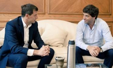 El intendente Bucca se reunió con el Viceministro del Interior García de Luca