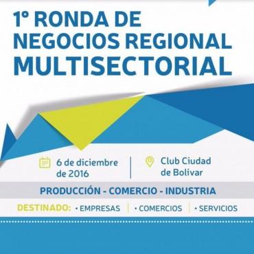 El próximo martes se realizará la I Ronda de Negocios Regional Multisectorial