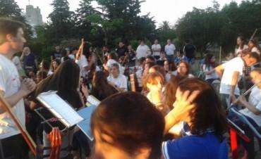 Se desarrolló el 1º Encuentro de 'Orquestas Escuela' y 'Bandas' en Bolívar