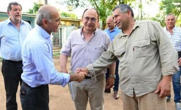 Saladillo: El vicegobernador Daniel Salvador visitó la ciudad
