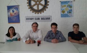 Rotary Club Bolívar: Dos estudiantes y una docente de la Secundaria Nº10 viajarán a EE.UU por intercambio