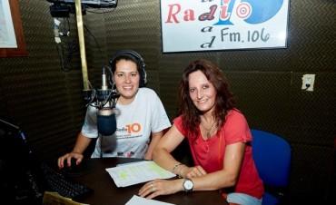 Mariela Morante hizo su paso por WhatsAppeando