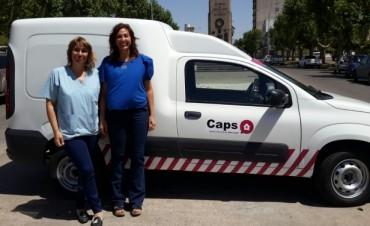 Se presentó la nueva camioneta de los CAPS