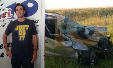 """Iñaki Danessa, tras el accidente: """"Tengo que agradecer que estoy vivo"""""""