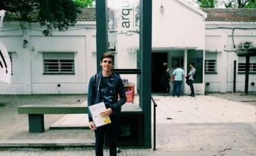 Un alumno de la Secundaria Nº7 'Paraje La Vizcaína' elegido por la Provincia como el mejor alumno del distrito