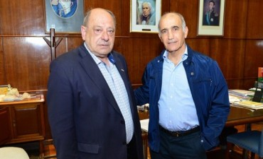 El Vicegobernador se reunió con Carlos Arroyo en Mar del Plata