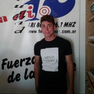 Luciano Molina fue campeón con Tigre, en la cuarta categoría de la AFA
