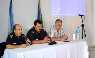 Henderson: Claudio Expósito, brindó una charla de Seguridad y Educación Vial en Henderson