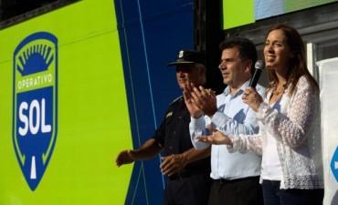 Vidal lanzó el Operativo Sol 2017