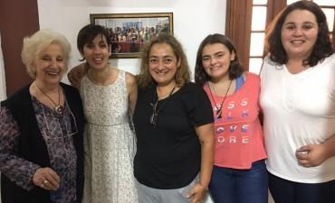 La directora de DDHH asistió a la conferencia de abuelas de Plaza de Mayo