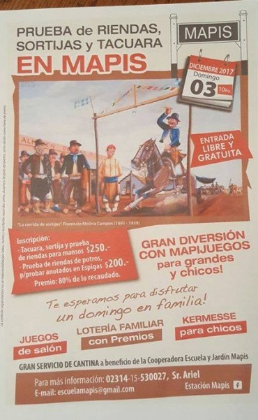 Gran fiesta en la Estación Mapis en enero